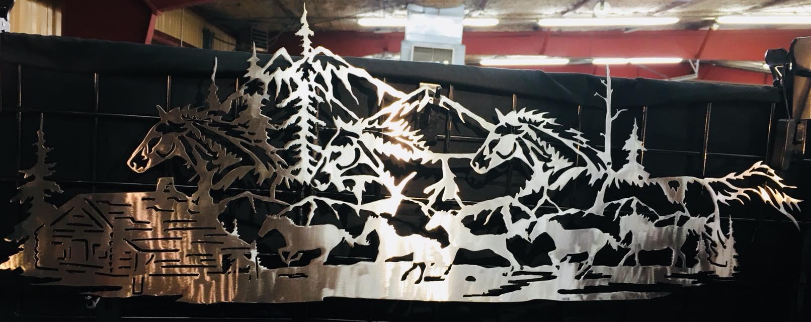 Metal-werx horses
